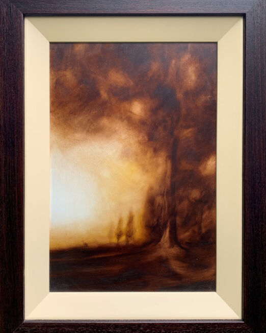 Harry Broiche OBRC012F (Image 30 x 44) (Frame 46 x 41cm)