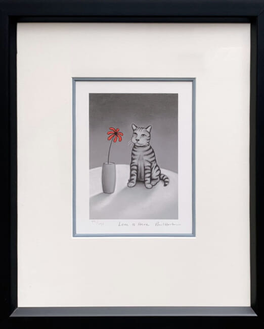 Paul Horton Love Is Here (44x52)