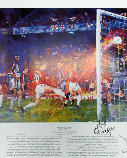 Terence Gilbert - Last Gasp Glory (Image 61 x 51 cm)