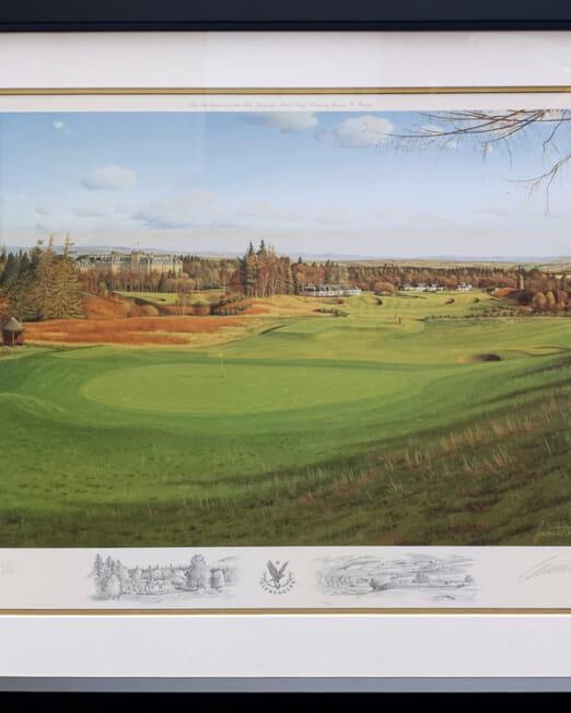 Graeme Baxter Gleneagles (Image 62 x 46cm) (Frame 83 x 66cm)