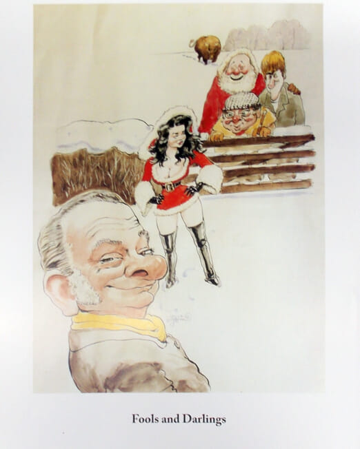 Charles Griffin - Fools & Darlings (Image 45 x 32cm)