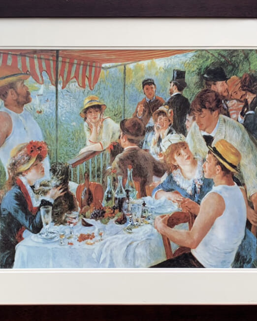 Pierre Augustie Renoir - Luncheon Pf The Boating Party (68x60)