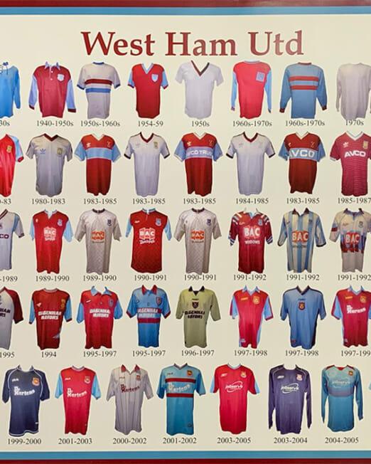 West Ham United (Image 57 x 40cm)