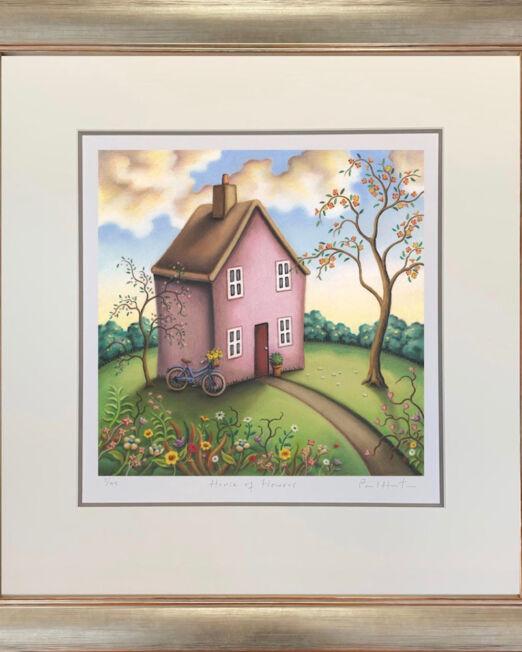 House Of Flowers Framed