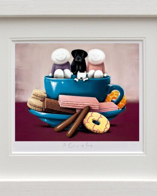 Doug Hyde A Cup of Love framed