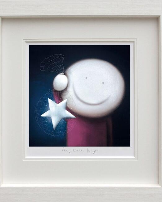 Doug Hyde Any Dream For You framed