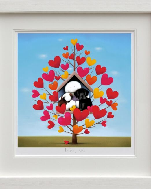 Doug Hyde Family Tree Framed