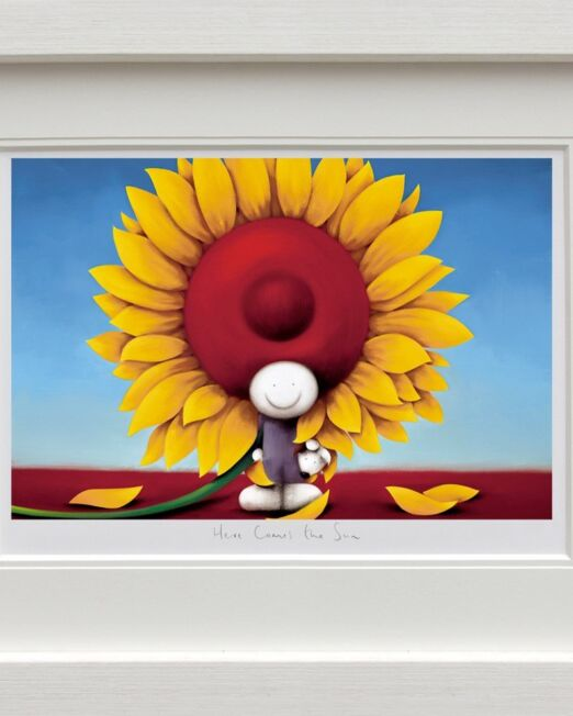 Doug Hyde Here Comes the Sun Framed