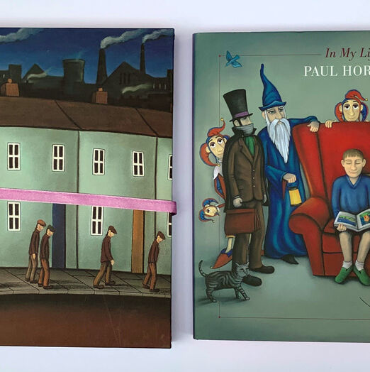 Paul Horton In My Life Book With Cover (26.5 x 26.5cm) (2)